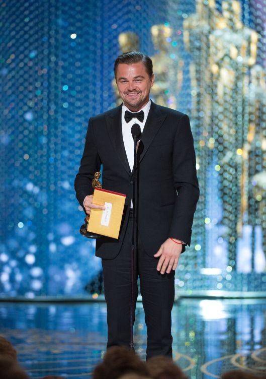Il primo Oscar di Leonardo DiCaprio Photo Credit: www.oscars.org/oscars/ceremonies/2016